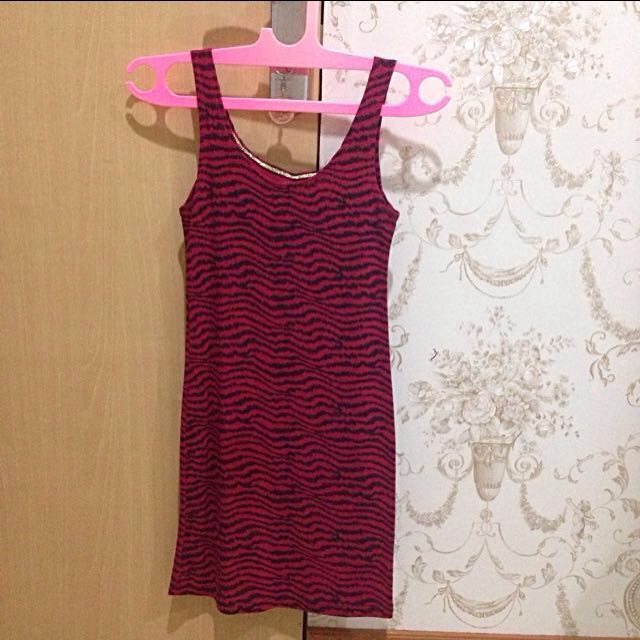 Zebra Pink Bodycon