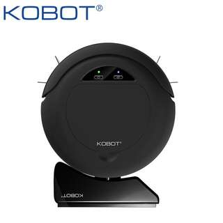 KOBOT M130 可愛質感智慧型回充掃地機器人 黑
