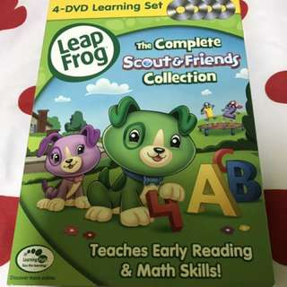 Leap Frog 4 DVD Complete Scout & Friends Collection