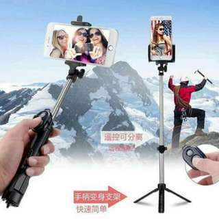 Multi Functional mini monopod