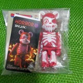Bearbrick series 07 Horror@Balzac 100%