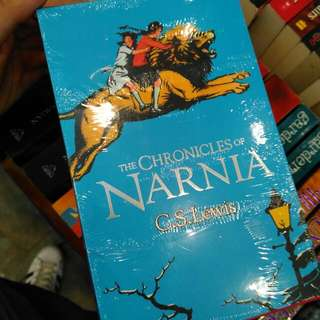 The Chronicles Of Narnia Book Set