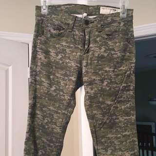 Army print Rag & bone Jeans