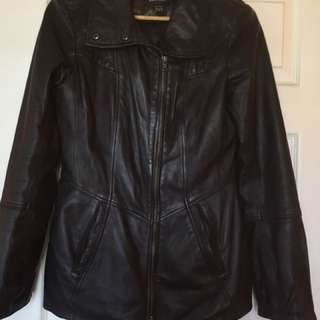 Black Genuine Danier Leather Jacket
