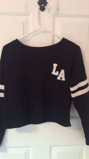 LA Cropped Sweatshirt