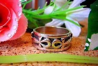 Egyptian Eternal Life Ankh Ring Sterling silver egypt Choose your ring size