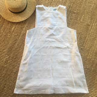 KOOKAI WHITE SHIFT Dress