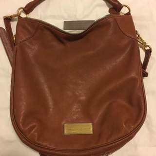 MARC JACOBS BROWN LEATHER PURSE