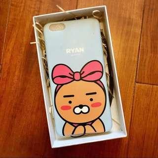韓國Kakao Friends同款手機殼 BTS金南俊 iPhone 6 6S 6plus 7 7plus 保護套保護殼