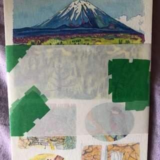 日本富士山Post Card