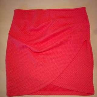 Supre Neon Pink Skirt