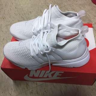 全新 US10 Nike 魚骨 全白