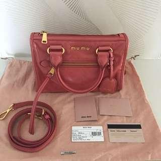 100% Authentic Miu Miu Bag For Let Go!