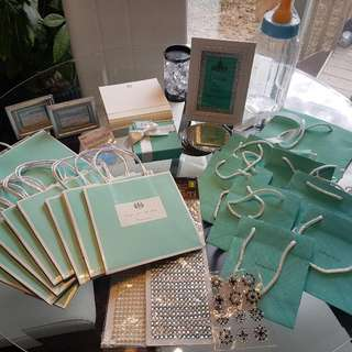 Tiffany & Co. Baby Shower Extras.