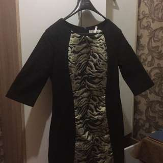ONANOKO BLACK DRESS