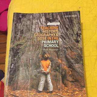 Teaching History, Geography & SOSE In The Primary School
