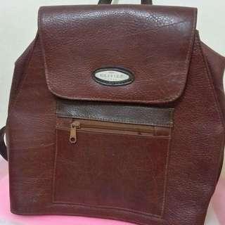 Backpack Leather Bag