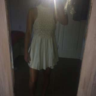 White Mose Dress
