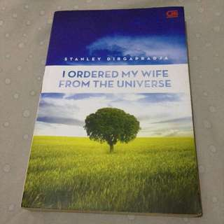 Novel I Ordered My Wife From Universe