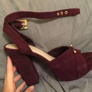 (negotiable) ZIMMERMANN Platform Sandal Heels