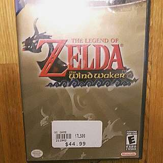The Legend of Zelda Winx Waker Game cube