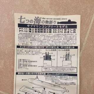 日本海上自衛隊潛艇