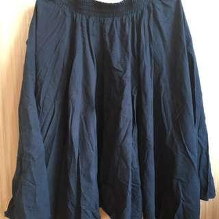 深藍 日系 散花裙#轉轉來交換#我的旋轉衣櫃