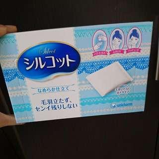 日本製化妝綿