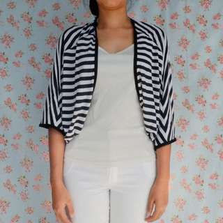 Stripe Cardigan / Outer