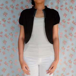 Crop Cardigan / Outer