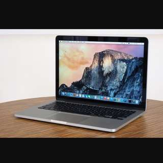 UPGRADED SPECS!! MacBook Pro 13.3 Retina Display (Mid 2014)