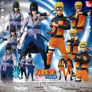 Naruto Shippuden Bandai Medicom RAH Project BM Uzumaki Naruto Action Figure