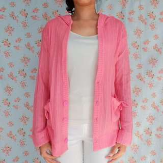 Pink Sweater / Outer