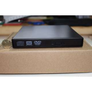 100% 全新外置USB 光碟機 燒碟機 可讀可燒 DVD/ CD DVDRW Notebook Netbook MAC MACBOOK MAC OS可用