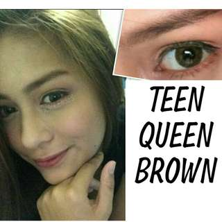 TEEN QUEEN Sparkle contact lenses
