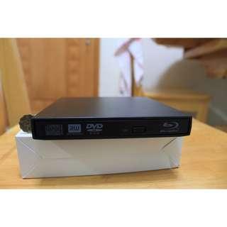 100% 全新   熱賣外置 藍光燒碟機 Bluray Writer ROM 可燒碟 (燒 blu-ray DVD CD) 光碟機 Notebook MACBOOK MAC OS可用