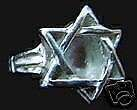 New Baby Star of David Silver ring Jewish Judaica Choose your ring size
