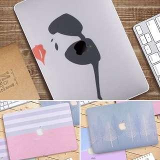 PO Macbook Hardcase Rainbow Sunglasses Tree