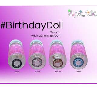 BIRTHDAY DOLL 15MM Sparkle contact lenses