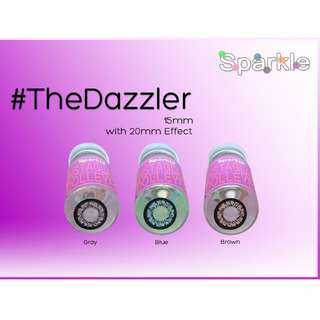 THE DAZZLER 15MM Sparkle contact lenses