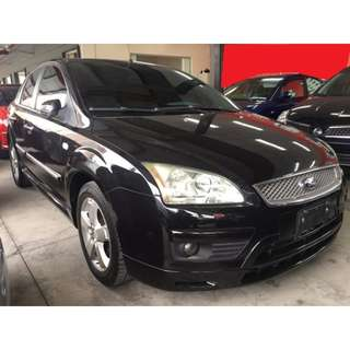 2006年 Ford 福特 Focus 佛卡司 1.8 黑 4D