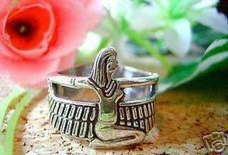 New Egyptian Isis Goddess silver Ring egypt Jewelry Choose your ring size