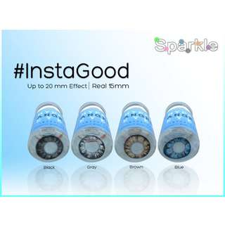 INSTAGOOD 15MM Sparkle contact lenses