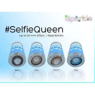 SELFIE QUEEN 15MM Sparkle contact lenses