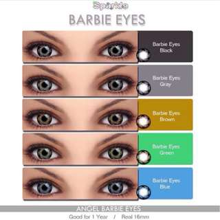 BARBIE EYES 16MM Sparkle contact lenses