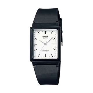 [Ready Stock] Casio LQ 142-7E Unisex Men Ladies Classic Simple Black Resin Analog with Date Display Watch New