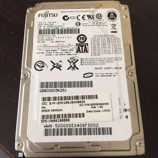 Fujitsu HDD 250GB