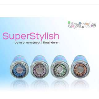 SUPER STYLISH 16MM Sparkle contact lenses