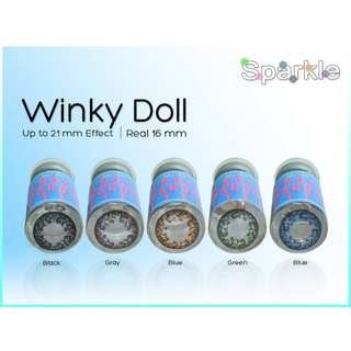 WINKY DOLL 16MM Sparkle contact lenses