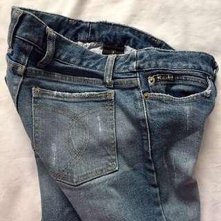 Bardot Straight Leg Denim Jeans